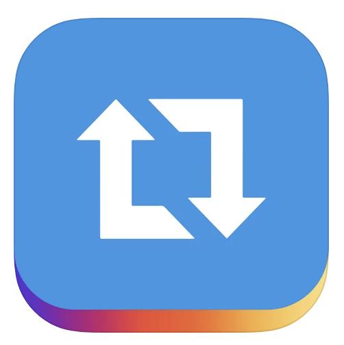 リポストアプリのアイコン